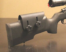 Adjustable Kydex Cheek Rest - Tactical Rifle - Custom Molded to Fit - Right Hand