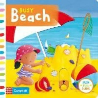 Confiable Busy Beach, Hardcover By Finn, Rebecca (ilt), Isbn 144725757x, Isbn-13 978144 2019 Nuevo Estilo De Moda En LíNea