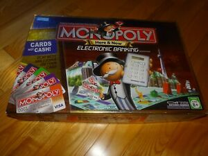 Electronic Banking 2007 Monopoly Board Game Parts /& Pieces Only You Choose