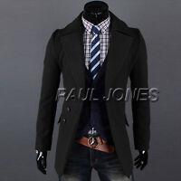 LANG JACKEN~Herren Mode Mantel Suit Button Sakko Slim Fit Top BUSINESS PARTY NEU