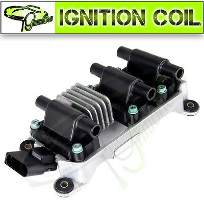 New Ignition Coil UF256 5C1046 High Performance For VW PASSAT AUDI A4 A6 2.8L V6