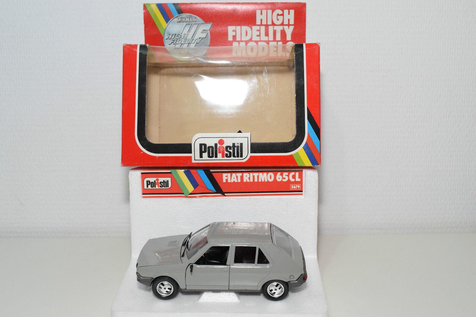 POLISTIL S679 S-679 S 679 FIAT RITMO 65CL 65 CL gris MINT BOXED