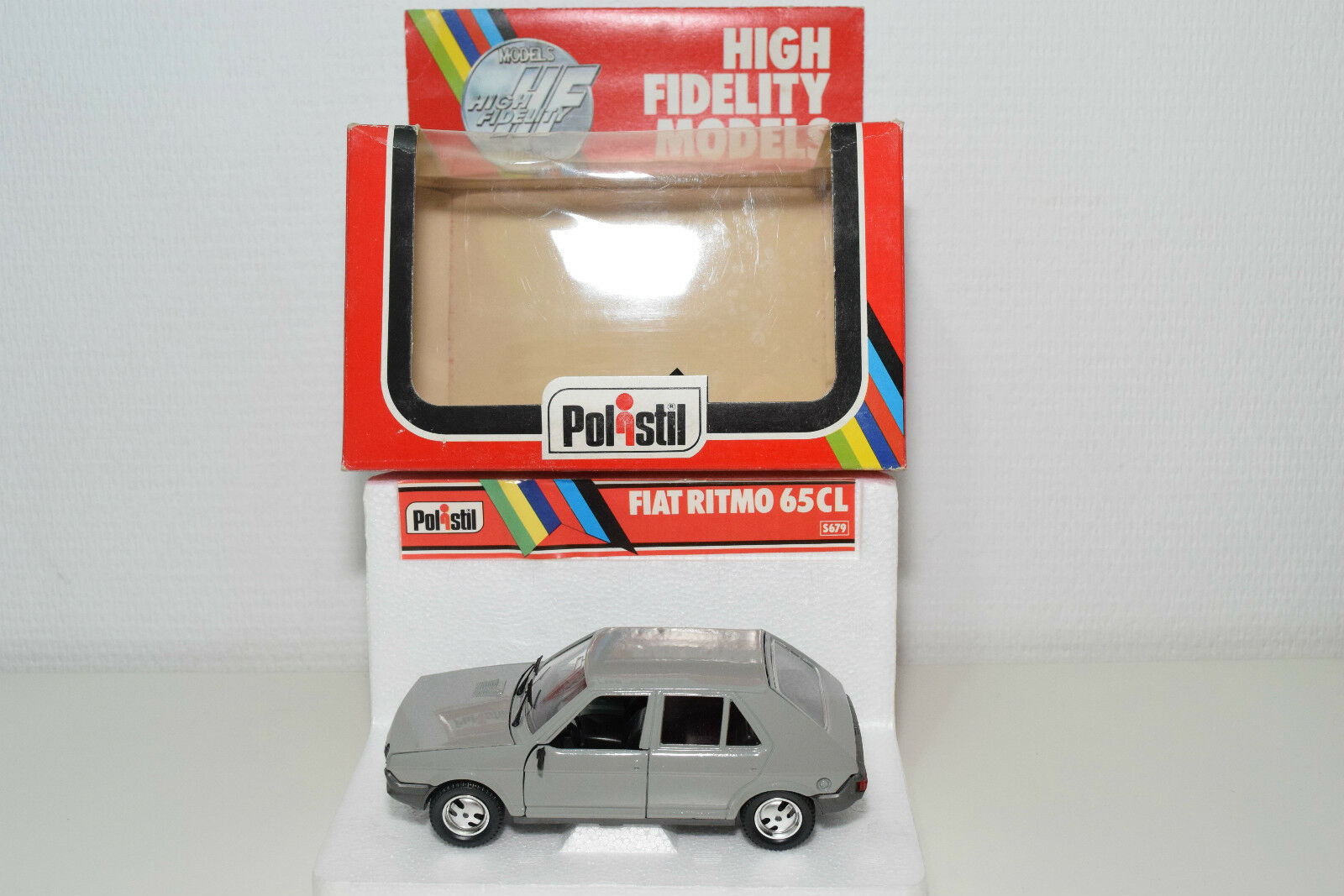 POLISTIL S679 S-679 S 679 FIAT RITMO 65CL 65 CL grigio MINT BOXED