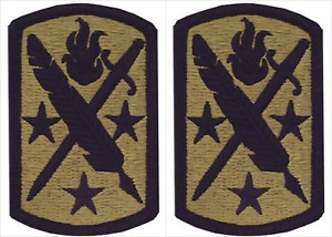 2-Pack-U-S-Army-95th-Civil-Affairs-Brigade-OCP-Hook-Military-Patches