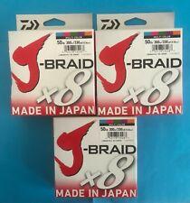 Daiwa Jb8u50-300wh White J-braid Fishing Line 330yd 50lb Test for sale online