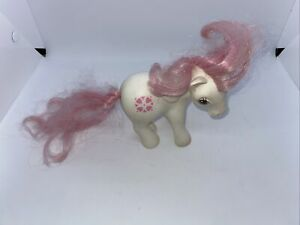 My Little Pony MLP G1 Vintage Megan's Sundance Original White Pink Heart 1983