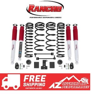 Rancho Lift Kits >> Details About Rancho 2 Sport Lift Kit W Rs5000 X Shocks 18 19 Jeep Wrangler Rubicon Jlu 4dr