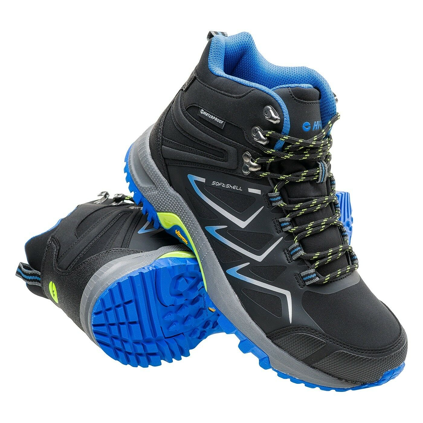 Hi-Tec  Reiko Medio Wp Hombre Zapatillas de Senderismo Trekking Zapatos  Centro comercial profesional integrado en línea.