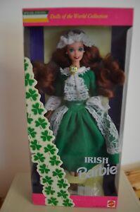 Barbie Irish Ireland Irelande 1994 Collection Poupee Du Monde Dolls Of The World