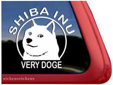 Shiba Inu Very Doge ~ High Quality Vinyl Shibe Doge Auto Window Sticker Decal