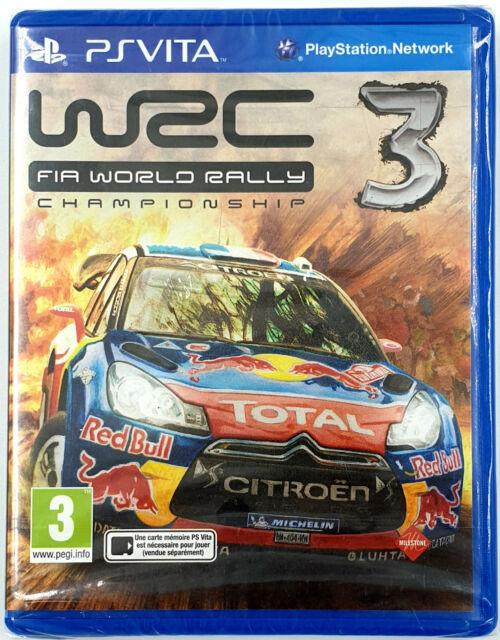 WRC 3 Fia World Rally Championship - Sony PS VITA - Neuf sous blister - PAL FR