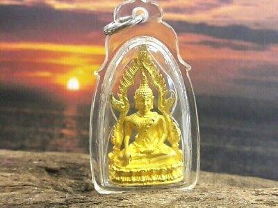 Locket Thai Buddha Amulet Phra Puttashinnarat Pittsanulok In Plastic Frame Consumers First