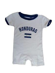 Honduras Bodysuit Soccer Baby Outfit Mameluco Infant Girls Boys T-shirt Kids