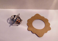 FORD ZEPHYR AND ZODIAC MK 4 1966 - 1972  THERMOSTAT AND GASKET  (NJ499B)