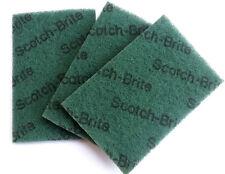 "Scotch Brite 3M Scouring Pad  3 pcs.Size 4x6"" General Duty Free shipping"