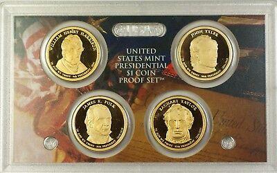 2010 4 Coin Presidential Proof Set No Box//COA
