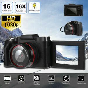 Digital-Full-HD-1080P-16MP-Camera-Video-Camcorder-Vlogging-Flip-Selfie-camera-xz