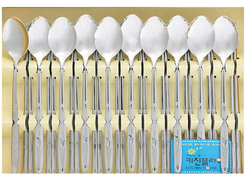 Korean Chopsticks /& Spoon 10Set High Quality Stainless Steel Practical Adorable