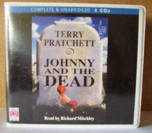 Johnny-and-the-Dead-by-Terry-Pratchett-Unabridged-Audiobook-4CDs