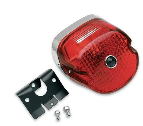 Drag Specialties DS-272199 Laydown Taillight Assembly with Blue Dot