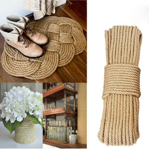 Details About 3 5m Packing Diy Crafts Home Decor Toy Nordic Hemp Cord Jute Ropes Thread Twine