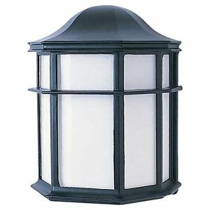 Sea Gull Lighting 8870-44 Sebring One-Light Outdoor Wall Lantern with Clear