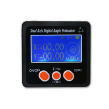 Digital Inclinometer Dual Axis Protractor Bevel Box Digital Angle Finder Tools