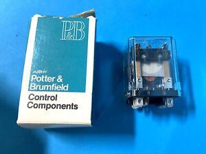 POTTER /& BRUMFIELD KUP-11A15-120 RELAY 120V *NEW NO BOX*