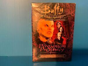 BUFFY THE VAMPIRE SLAYER CCG PERGAMUM PROPHECY HERO AND VILLAIN STARTER DECKS