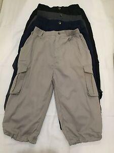 6c681d07 New Mens Boys 3/4 Pants Outdoor Walk Fish Camp Casual Cargo Shorts ...