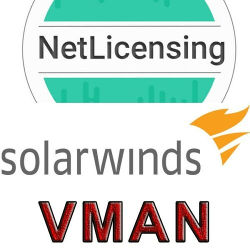 Perpetual//Full Feature License Solarwinds Virtualization Manager License