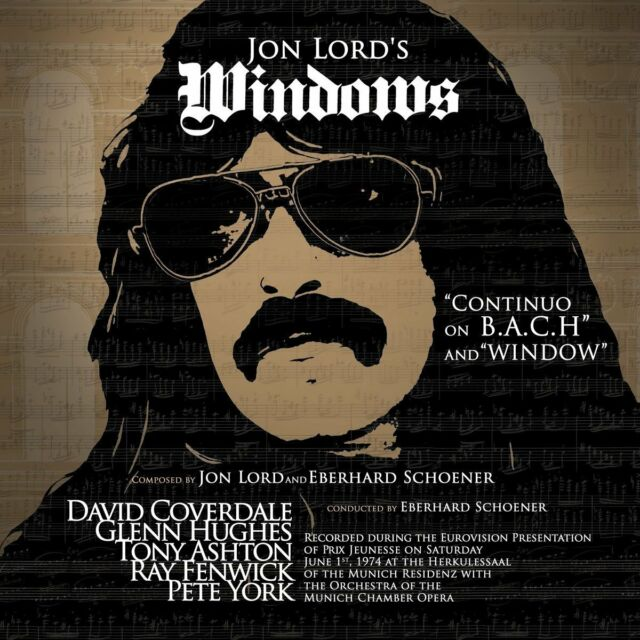 Jon Lord Windows 2017 Remastered CD Album Neu/Verpackt Eberhard Schoener