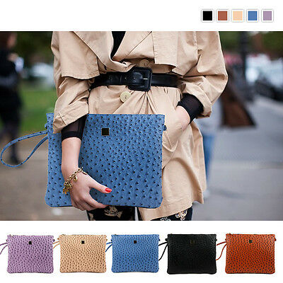 Style2030 NEW KOREA Womens Oversized Envelope Purse Day Clutch Bags Purse