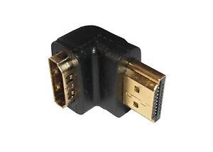 HDMI-90-Grad-Winkel-Stecker-Winkelstecker-Winkelstueck-female-male-NEU-amp-OVP