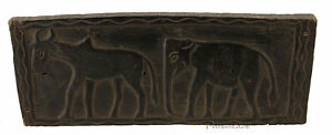 Antico Sedile Tribale Arte Tharu Etnici Nepal -933