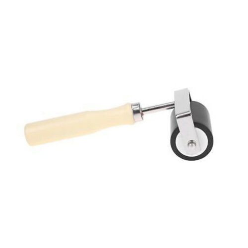 rubber clay roller pottery rolling pin modelling tool non-stick brayer art SS