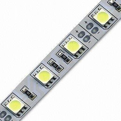 Tira led 5mt 5050 Blanco Frío 72W, 60 led/metro
