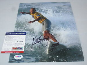 KELLY-SLATER-SIGNED-8X10-PHOTO-PSA-DNA-SURFING-LEGEND-RARE-WOW-5