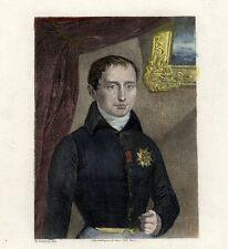 Portrait de Jospeh Bonaparte - Valentin Gravure originale XIXème