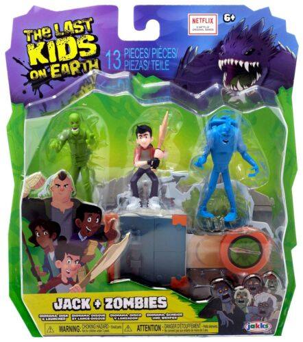 The Last Kids on Earth Jack Zombie Figure 3-Pack