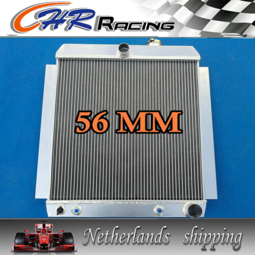 56MM aluminum radiator for 1948-1954 CHEVY TRUCK PICK UP AT 48 49 50 51 52 53