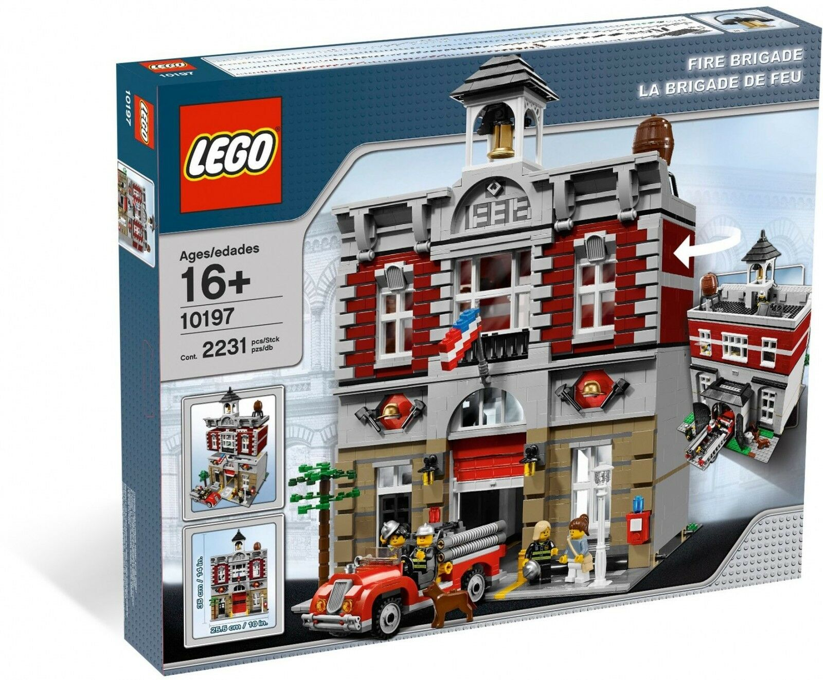 LEGO ® 10197 Exclusive Creator Caserne Nouveau neuf dans sa boîte _ FIRE BRIGADE NEW En parfait état, dans sa boîte scellée Boîte d'origine jamais ouverte