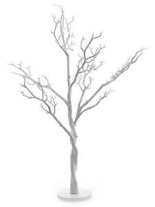 """Importé De L'éTranger 4 Blanc Manzanita Mariage Souhait Tree, 90cm/36"""" *** En Promotion Actuellement ***-afficher Le Titre D'origine"""