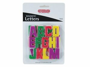 MULTI-COLOURED-MAGNETIC-A-Z-LETTERS-FRIDGE-MAGNETS