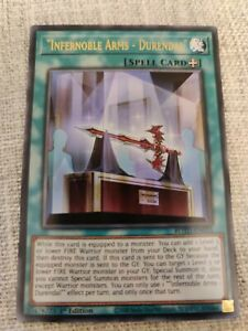 "Japanese /""Flame Noble Arms Durendal/"" ROTD-JP053 Rare Yugioh"