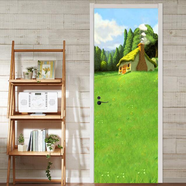 3D Grasland Haus 87 Tür Wandmalerei Wandaufkleber Aufkleber AJ WALLPAPER WALLPAPER WALLPAPER DE Kyra | Kaufen Sie beruhigt und glücklich spielen  |  Neuer Markt  | Sale Online Shop  011a5b