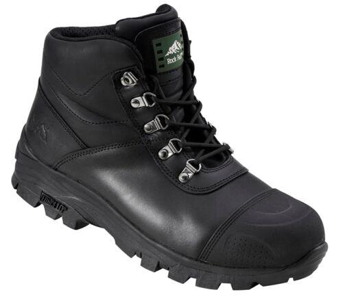 Rock Fall Granite RF170 Black S3 HRO SRC Steel Toe Water Resistant Safety Boots
