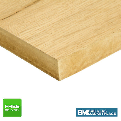 Oak Veneer Mdf Crown Cut Veneered Mdf Board Crown Cut Oak Mdf Sheets Ebay