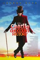"""Charlie and the Chocolate Factory movie poster : 11"""" x 17"""" Johnny Depp poster"""