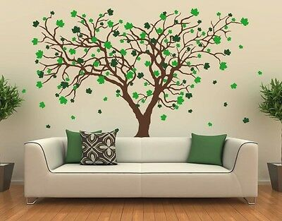 Big Maple Wall Decal, Floral Decals, sticker, mural